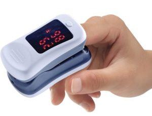 saturazione di ossigeno pulsossimetro